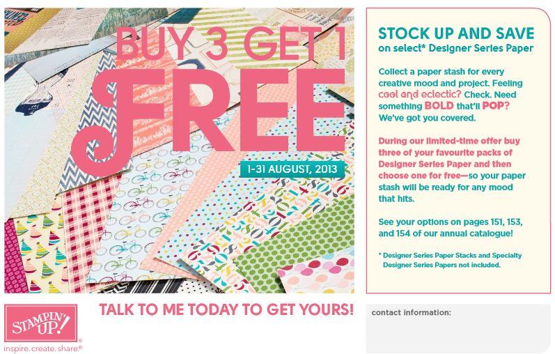 paper promotion 2013